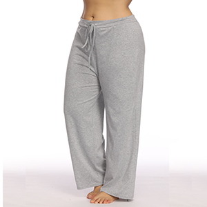370fcb9de10 Allegrace Women s Plus Size Comfy Stretch Long Pajama Pants ...