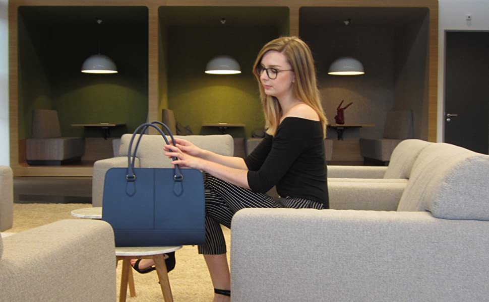 Dark Blue Su.B.dgn laptop bag