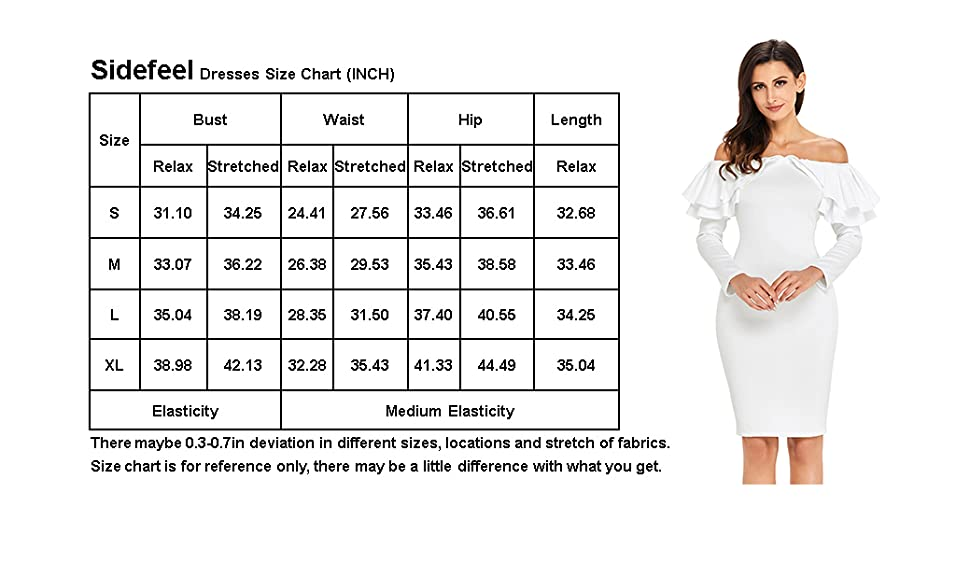 0a0c072454bb5  Luxury will be your middle name in the Ruffle Off The Shoulder Long Sleeve  Bodycon Dress! Stretch knit forms your sexy curves elegantly