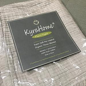 Original Kyrahome Throw Blanket Package