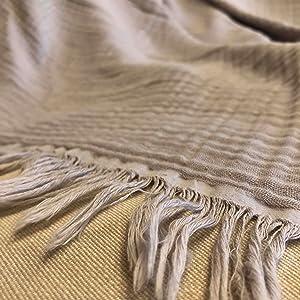 kyrahome 100% cotton throw blank super softet