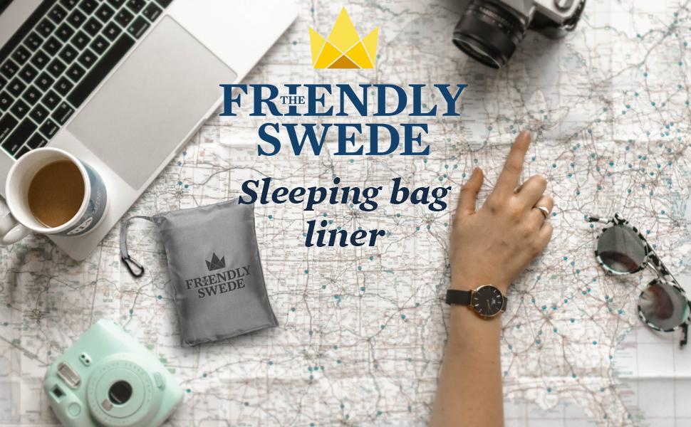 sleeping bag liner in pocket size