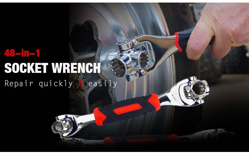 48 in 1 socket wrench tool