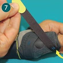 Push Sports Thumb Brace Application