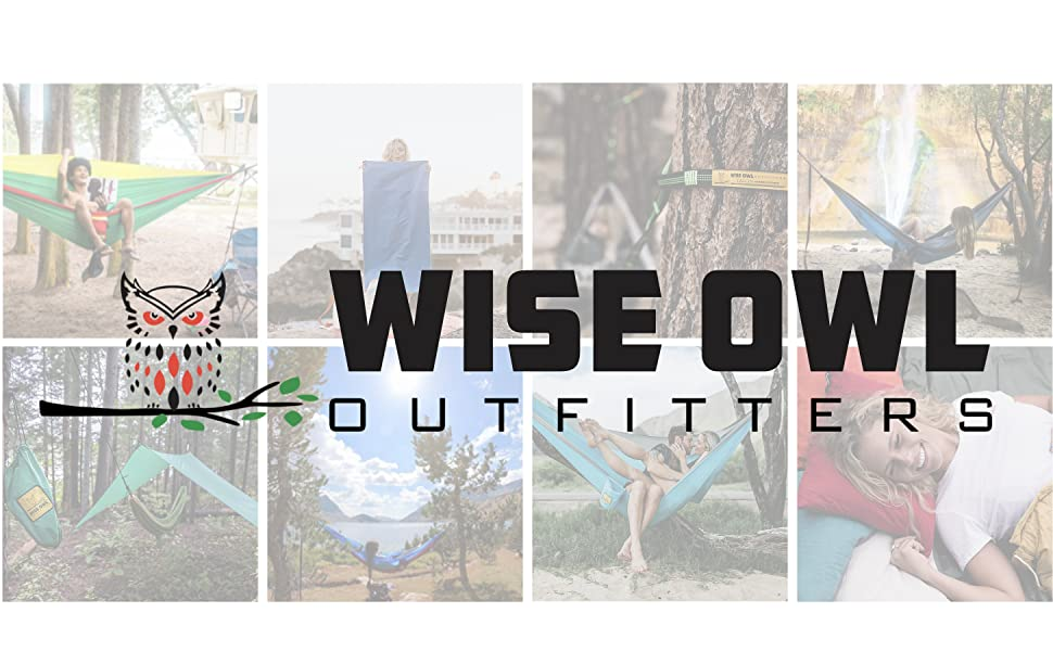 wise owl outfitters camping hammock hammocks tree strap rain tarp fly pillow camp travel towel
