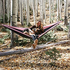 camping outdoors camp hammock hammocks wise owl outfitters camp out travel dog dogs hammocking