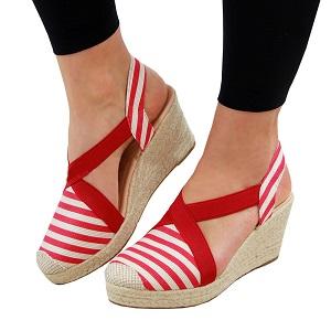 006c739065c3 Amazon.com  PiePieBuy Womens Espadrille Platform Wedge Sandals ...