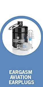 eargasm earplug earpiece aviation travel