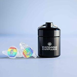 eargasm rainbow pride earplugs high fidelity