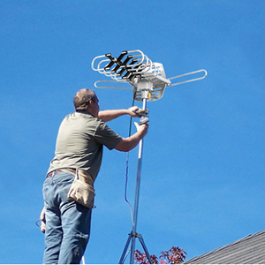 Amazon.com: TV Antenna,Sobetter Amplified Outdoor 150 Mile