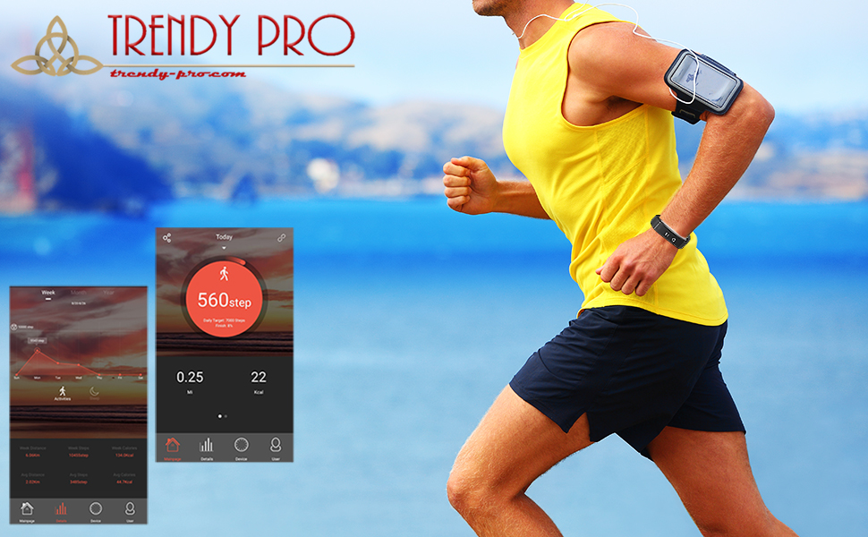 Fitness Tracker Heart Rate Sports Modes