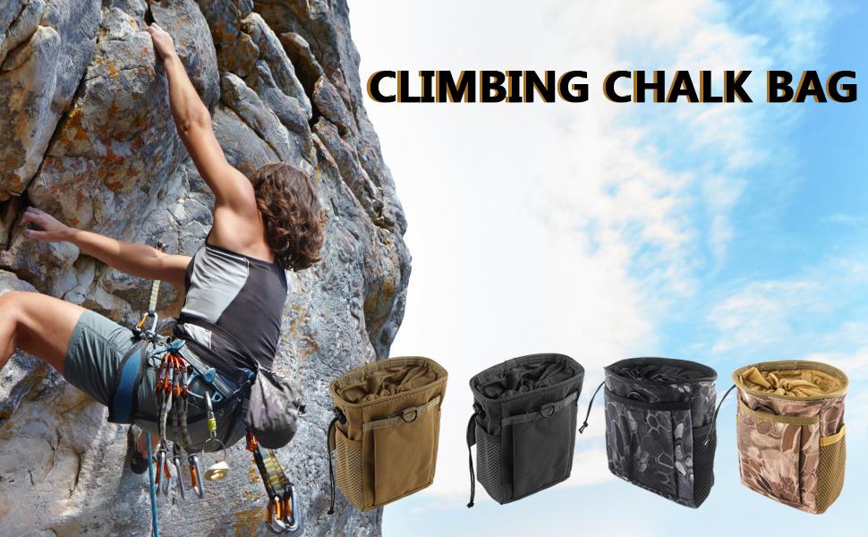 S.K Climbing Rock Climbing Chalk Bag