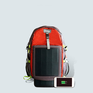 773c636abea9 Hanergy Hiking Solar Backpack 10.6W with 2 Flexible Solar Panels Charger  for Smart Phone/Outdoor Living Devices, Professional Sports Mountaineers ...