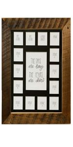 picture frame, collage frame, wooden picture frame, real wood, school, frames, hanging frame