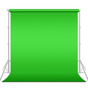6 x 9 feet Green Muslin