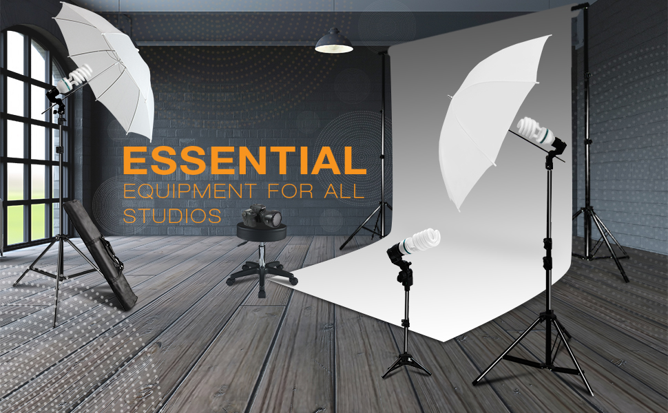 Premium Photo Video Studio Lighting Kit