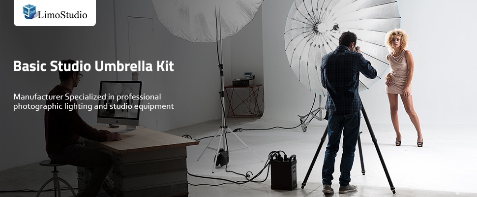 Now it has never been easier to create the professional photo studio look at home by using this kit without breaking the bank your subjects will feel like