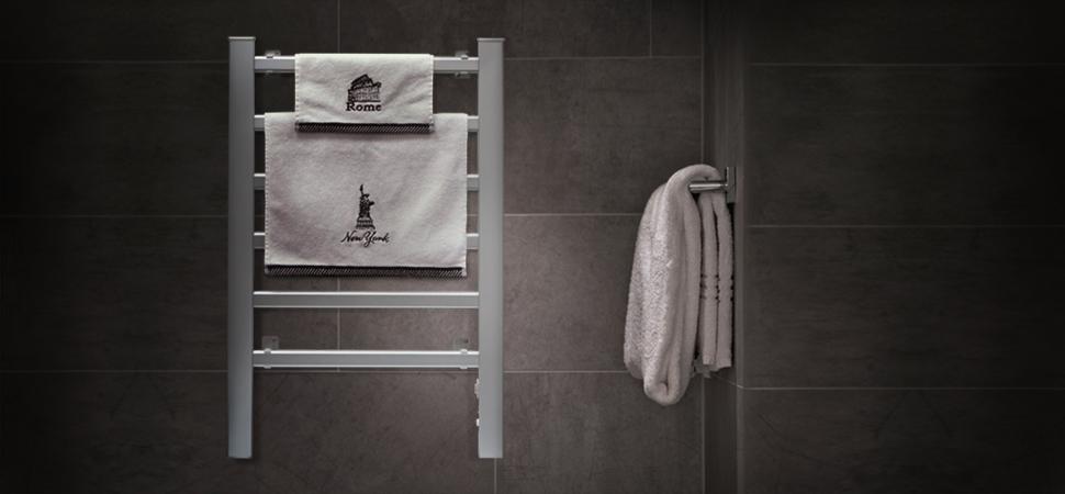 Amazon Com Innoka 2 In 1 Towel Warmer And Drying Rack Heated Towel Rack Free Standing Amp Wall Mount Ul Certified With 6 Bars Amp Aluminum Frame