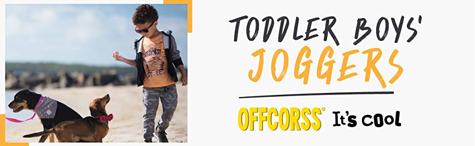 c55fdf02d OFFCORSS Toddler Boy Joggers for Kids Pantalones Deportivos para Niños