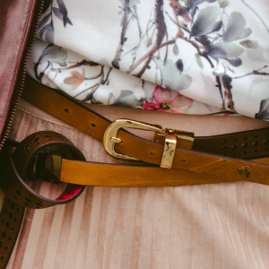 Velez Genuine Leather Belts for Women | Correa de Cuero de Dama