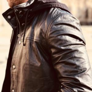 VELEZ Mens Stunning Genuine Colombian Leather Bomber Zip up ...