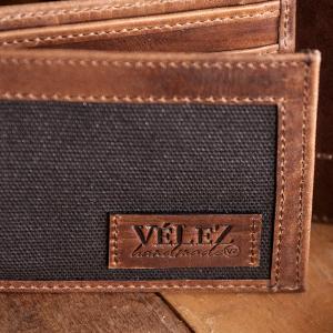 04652b7f2 Velez Mens Genuine Full Grain Colombian Leather Bifold Wallets ...