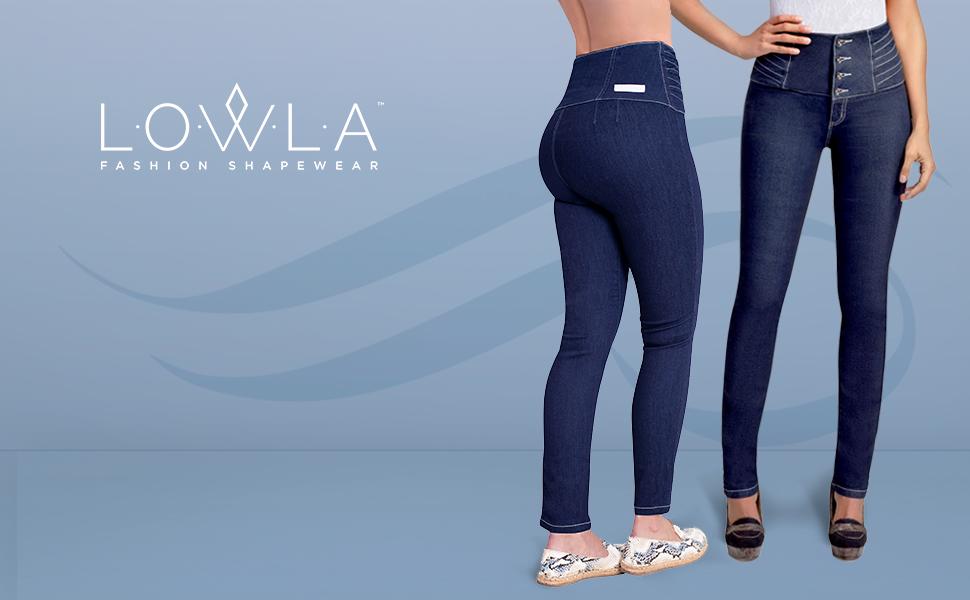 Amazon.com: L.O.W.L.A SHAPEWEAR LOWLA Colombian Skinny Butt ...
