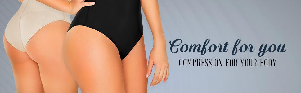 Fajas Colombianas Beige DIANE /& GEORDI 002375 Slimming Body Shaper for Women