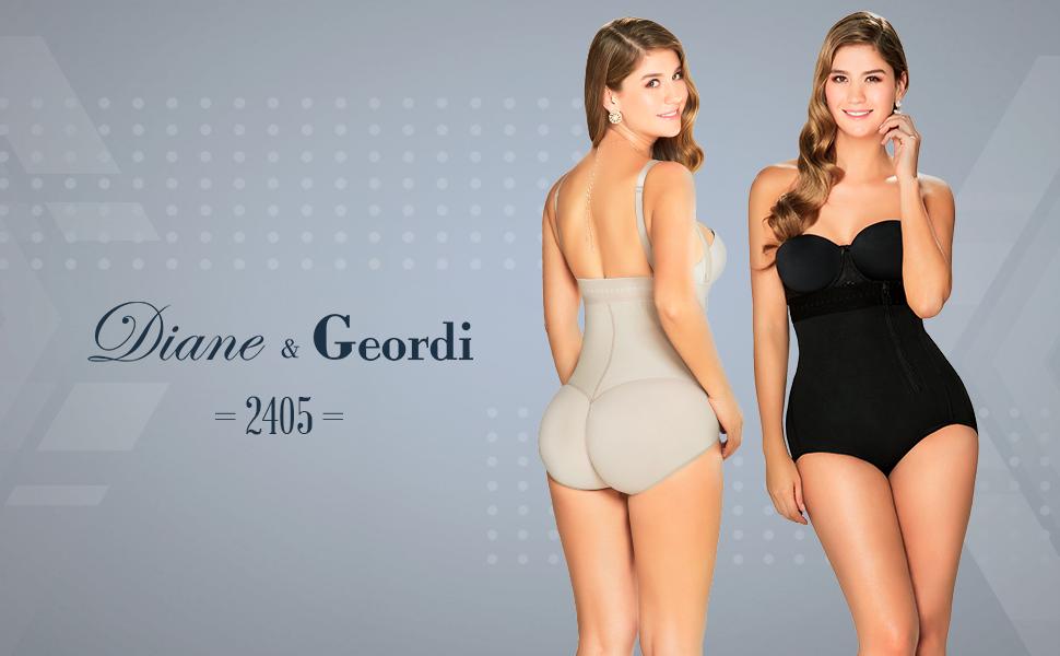 19d39c804cb DIANE   GEORDI 2405F Powernet Bodysuit Shapewear for Women with ...