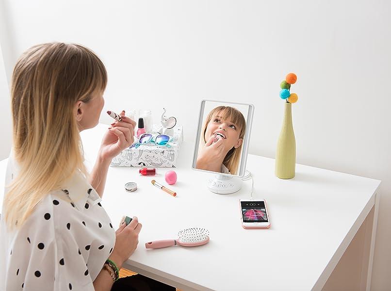 Ihome Vanity Speaker Mirror Bed Bath And Beyond Mirror Ideas