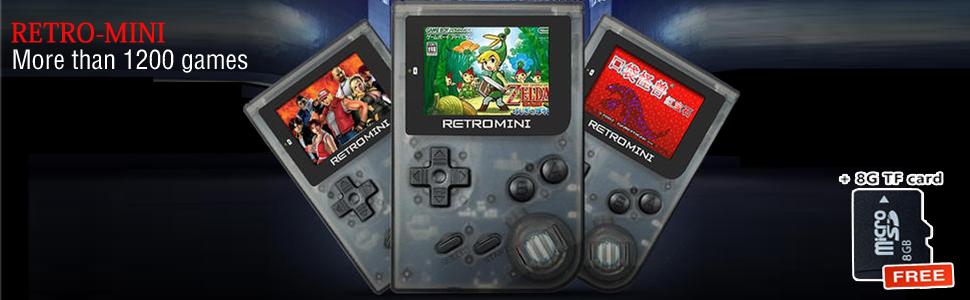 Retro MINI games