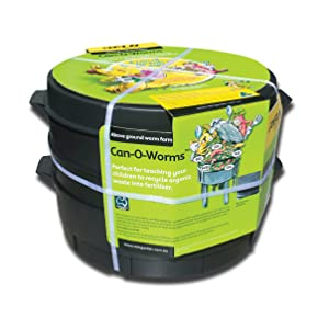 Can o worms, worm farming