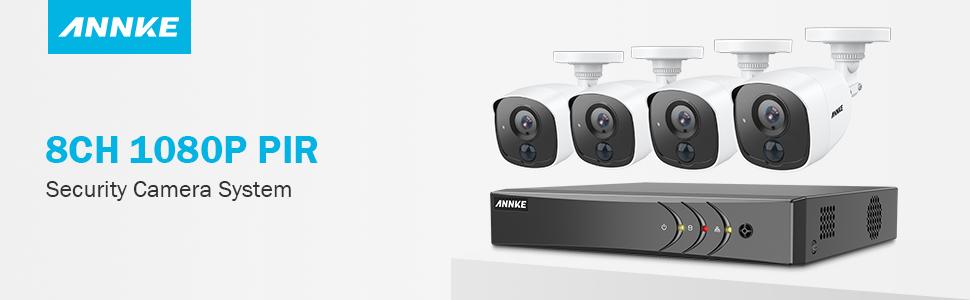 Amazon.com: ANNKE 1080P Ultra Clear 1080P Camera System ...