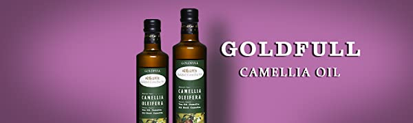 Amazon Com Goldfull Camellia Oil Tea Seed Oil Camellia Seed Oil Cold Pressed Extra Virgin Cooking Oil Camellia Oleifera Oil Chinese Olive Oil Natural Flavor Current Harvest 500ml Grocery Gourmet