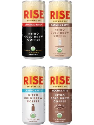 RISE Original Black and Lattes