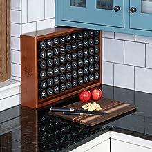 Spice Rack, AllSpice, Kitchen, Organization, Storage, Cooking