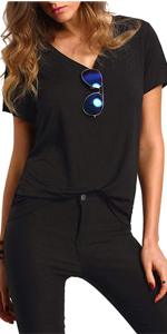 Floerns women short sleeve t shirt