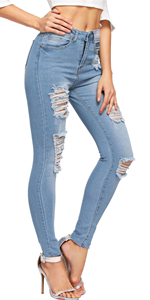 Floerns denim jeans