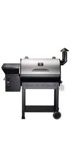 Amazon Com Z Grills Wood Pellet Grill Amp Smoker With Patio Cover 700 Cooking Area 7 In 1