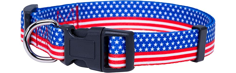 American Flag Dog Collar II