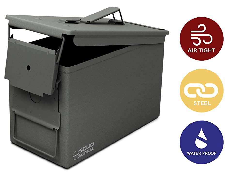 Amazon.com : New Solid Tactical 50 Cal Metal Can
