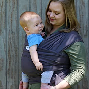 55c69b725d7 Amazon.com   Baby Wrap Ergo Carrier Sling - by Sleepy Wrap ...