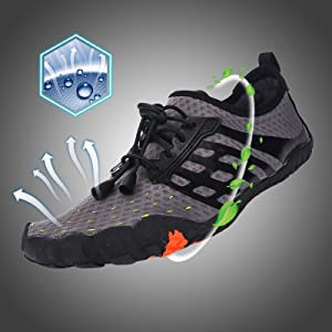 Breathable & Quick Dry Upper