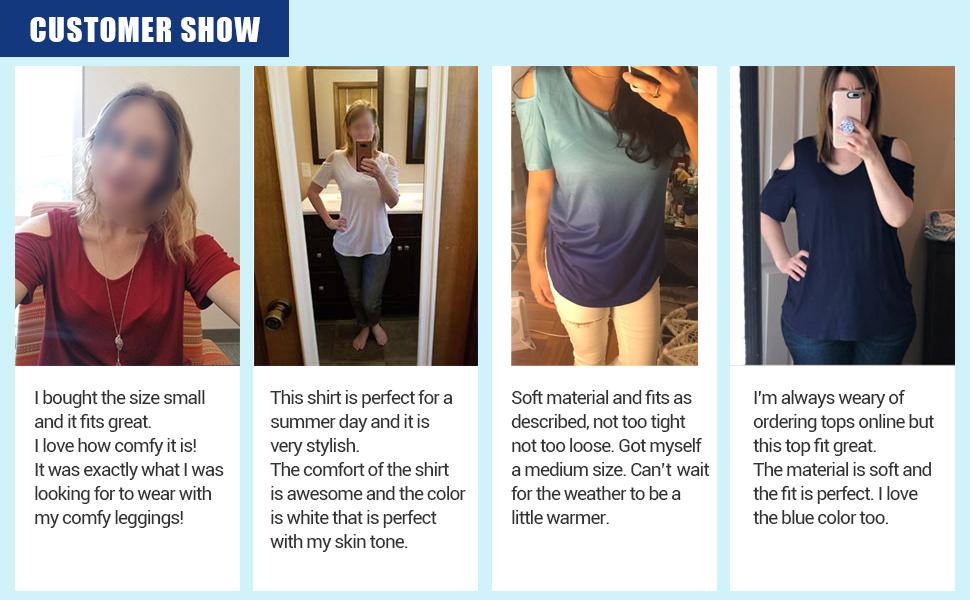 aba42ac2490 Women s Criss Cross Cold Shoulder T-Shirt · Women s Casual Short Sleeve T- Shirt · Clearance Women s Pleated Front Long Sleeve T-Shirt · Clearance  Women s ...