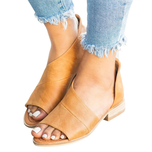 womens fashion flats comfy sandal shoes summer open toe ankle casual shoes comfortable ladies shoes