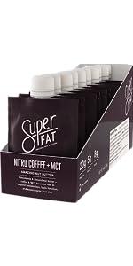 Nitro Coffee Nut Buter Keto Snack