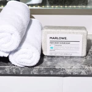 Marlowe soap men exfoliating