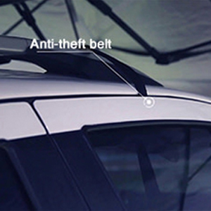 Double Anti-theft Designs Keeps Everything Safe