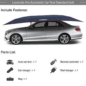 Auto car tent ( Navy )