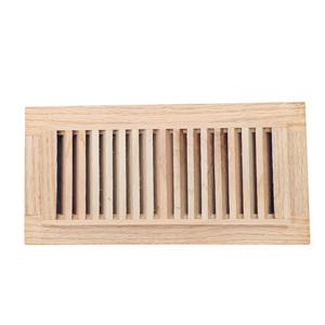 oak floor register 4x10